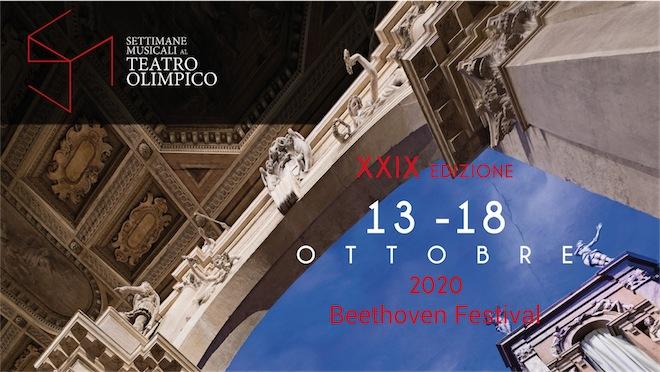 Settimane Musicali al Teatro Olimpico di Vicenza, Beethoven Festival 13 - 18 ottobre 2020