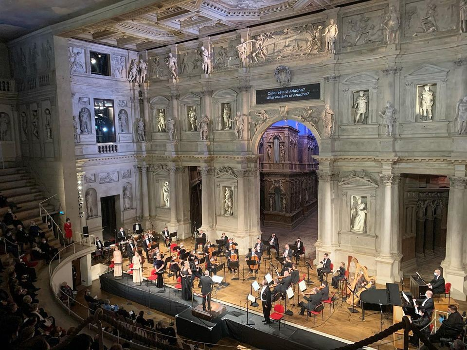 SOCIETA' DEL QUARTETTO DI VICENZA, VICENZA OPERA FESTIVAL 2020 - CONCERTO IN STREAMING DEL 26.10.2020